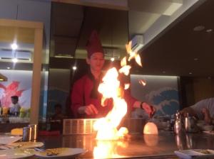 tairyo teppanyaki chef